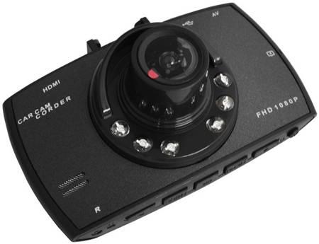 "Rejestrator jazdy DVR 2,8"" G-Sensor z kamerą cofania"