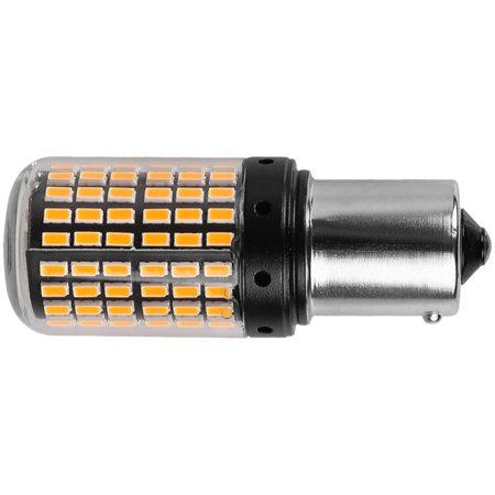 Żarówki PY21W BAU15s Canbus 144 SMD 12V pomarańczowe do kierunkowskazów