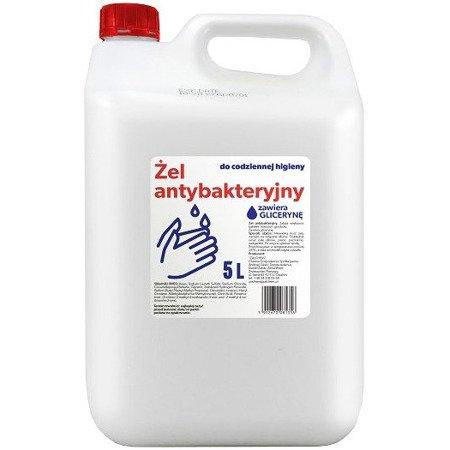 Żel antybakteryjny do mycia rąk 5L